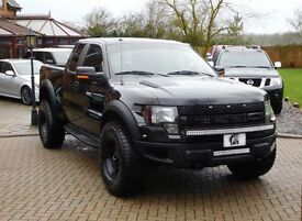 Supercharged Ford F-150 Raptor 500bhp LHD LPG