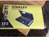 "STANLEY MICROTOUGH 1/4"" SOCKET SET"