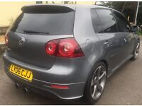 2006 VOLKSWAGEN GOLF R32 DSG 4 MOTION 5 DOOR+9 MONTH MOT+ONLY 79,000 MILES+FULL VOSA HISTORY