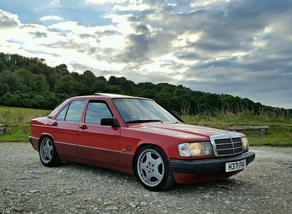 Rare 1990 mercedes benz w201 190e 1 8 manual long for How much is a 1990 mercedes benz worth