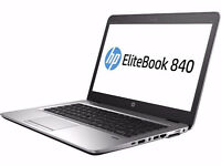 HP Elitebook 840 . i7 5th gen- 16GB - 256GB SSD . Windos 10 pro - Office 2016 - adobe