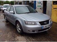 Hyundai sonata diesel sold with a fresh mot