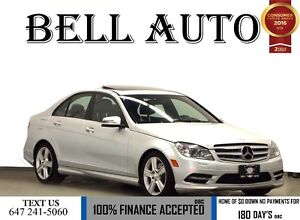 2011 Mercedes-Benz C-Class C300 NAVIGATION LEATHER SUNROOF FACTO