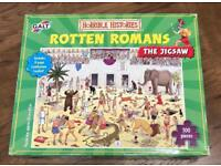 Horrible histories rotten Romans jigsaw puzzle