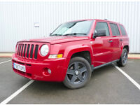 57 Jeep Patriot 2.0 CRD 4x4 LIMITED ** 5 STAMPS / LEATHER / VW DIESEL ENGINE **