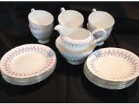 Vintage tea set (Bone China