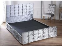 CUBE BED, DOUBLE SIZE, MEMORY FOAM MATTRESS, 4FT 6, HIGH QUALITY