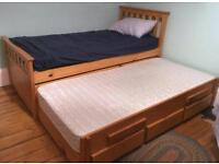 Single captain's bed for sale