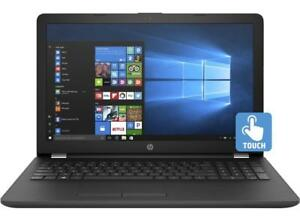 HP Pavilion 15-bw007ca 15.6'' TOUCHSCREEN, AMD 10 cores A10-9620 , 8GB, 1TB,Radeon HD R5 NEW IN OPEN BOX + MC office PRO