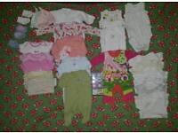 Newborn -3 months girls bundle