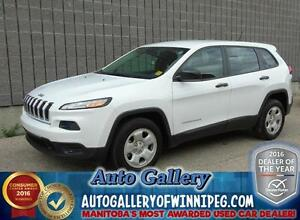 2014 Jeep Cherokee Sport*Super Low Kms!