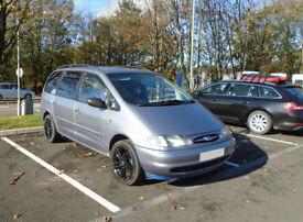 Ford Galaxy GHIA MPV 2L- Petrol Metallic Grey, 1997.