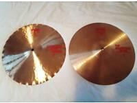 "Paiste 2002 Sound Edge Hi Hats 14"" (great condition)"