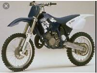 WANTED YZ 125 - 250 £1100 cash