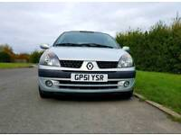 Renault Clio 1.4 16v 5dr very low mileage 35k