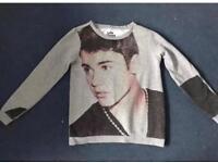 Justin Bieber Official Purpose Tour Merchandice Jumper