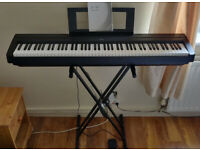 Yamaha P-45 portable digital piano with Double-X frame