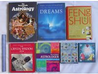7 BOOKS Astrology dream meaning crystal wisdom Feng Shui inspirational angel cards HOME CLEARANCE