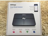 Intelligent Scale - Withings Smart Body Analyzer - in Black