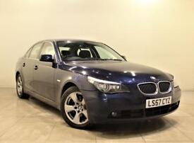 BMW 5 SERIES 3.0 525D SE 4d 195 BHP (blue) 2007
