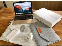 "MacBook 12"" with Retina display (gold)."