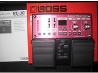 Boss rc30 loop pedal