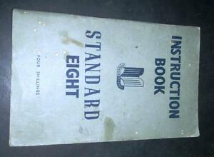 Car manual standard 8 1947 Bedford Bayswater Area Preview