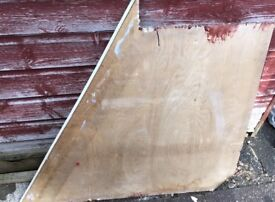 Large Solid wood piece ideal for shelving