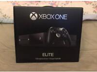Xbox One Elite 1tb Unused Condition With Rare Elite Controller + Grand Theft Auto 5 (sealed)