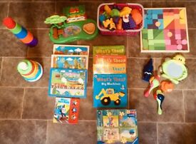 Baby toddler toys stackers jigsaws books new blocks musical instruments ++