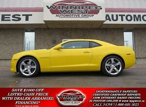 2011 Chevrolet Camaro Rally Yellow, 2SS, RS, 426HP, LEATHER, SUN