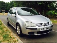 VW Golf TDI 2007 Silver