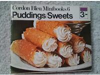 Puddings/Sweets - Cordon Bleu Minibooks 6