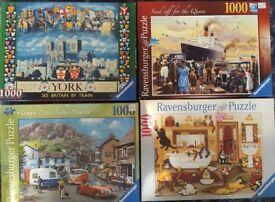 Ravensburger 4 x 1000 Jigsaw Puzzle