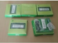 5 X BRAND NEW MP3 PLAYER & ACCESSORIES