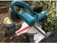 Erbauer sliding mitre/ compound saw
