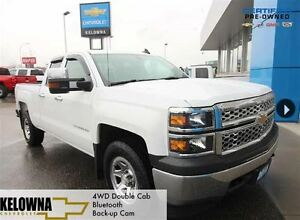 2015 Chevrolet Silverado 1500 LS 4WD Double Cab, Bluetooth, Back
