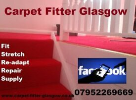 Carpet Fitter Glasgow 07952269669 DONT PAY SHOP PRICES