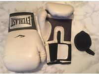 Everlast Womens Boxing Gloves - White