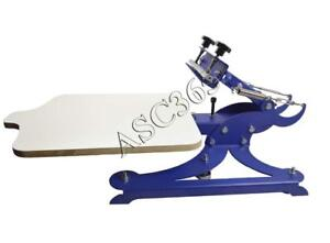 Screen Printing 1 Color 1 Station With 4 Direction Adjust Press 219002