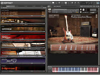 KONTAKT INSTRUMENTS...PC/MAC