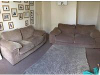 Large 3 seater and large 2 seater sofa set for sale SHOLING