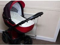 baby pram still in good condition, will be fully clean.