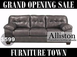 Grand opening sale. Alliston Ashley sofa $599