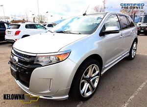 2013 Ford Edge Sport, Leather, Sunroof, Navigation