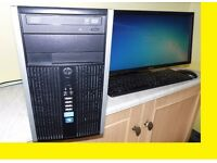 *** HP Intel core i5 desktop tower WITH FREE LASER PRINTER