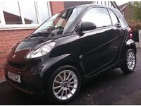 Smart Fortwo Passion mhd 71bhp 2010. FSH, Electric windows, Sat Nav, Handsfree, glass roof, Aircon.