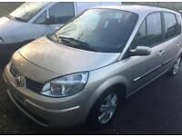 Renault scenic 1.6 petrol semi automatic