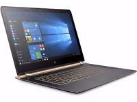 """BRAND NEW HP Spectre Pro 13 G1 X2F01EA i5-6200U 8GB 256GB SSD 13.3"""" Windows 10 Pro"""
