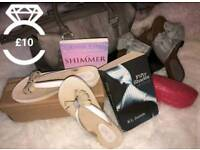 Bundle - 'Weekend Away ?' Shoes/Bag/Books